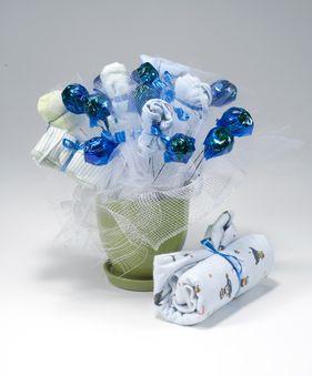 Blue flower gift 1